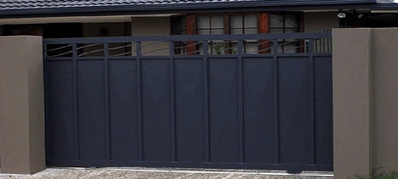 remote control sliding panel gate